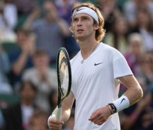 東京五輪男子テニスロシア代表のアンドレイ・ルブレフ